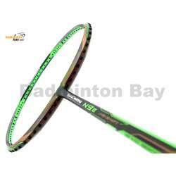 Li-Ning Mega Power TurboCharging N9-II Green Dual Color Fu Haifeng Edition Badminton Racket 3U (W3-S1)