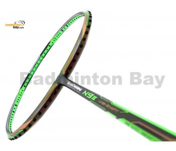 Li-Ning Mega Power TurboCharging N9-II Green Dual Color Fu Haifeng Edition Badminton Racket 3U (W3-S1)