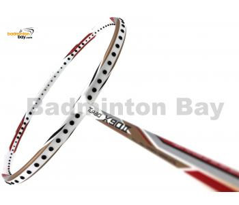 Li-Ning Turbo X90 II White Gold Badminton Racket 3U (W3-S2)
