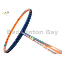 Li-Ning Extra Skill Windstorm 72 Orange Navy Blue Badminton Racket 7U (W1-S1)