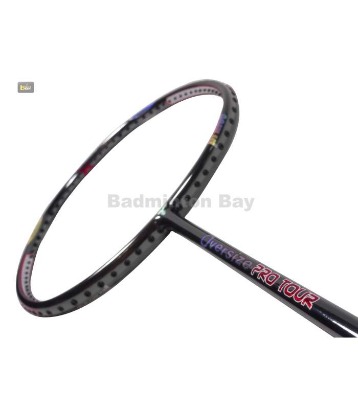 Prince Oversize Chrome Pro Tour Triple Threat Badminton Racket
