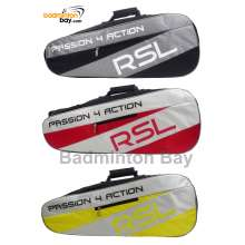RSL 2 (Double) Compartments P4A Bag - 3001 Non-Thermal Badminton Racket Bag