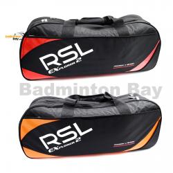 RSL 2 (Double) Compartments P4A - Non-Thermal Badminton Racket Bag