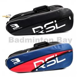 RSL 3 (Triple) Compartments P4A - Non-Thermal Badminton Racket Bag