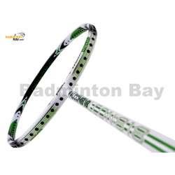 RSL Falcon 818 White Chrome Green Badminton Racket (4U-G5)
