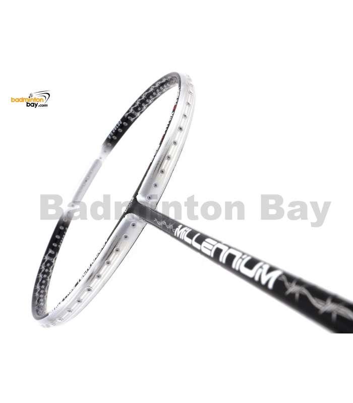 RSL Millennium Nova 8160 IP Black Silver Badminton Racket (4U-G5)