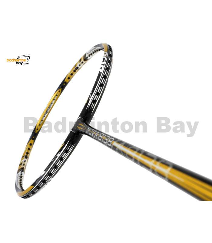 RSL Nova 8138 Black Gold Badminton Racket (5U-G5)