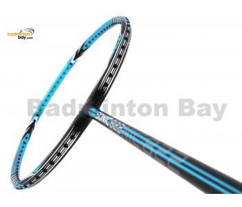 RSL Sonic 822 Black Blue Matte Badminton Racket (4U-G5)
