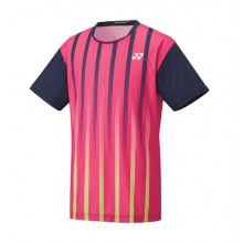 Yonex Lee Chong Wei LCW Men Round Neck T-Shirt 16217YEX Dark Pink