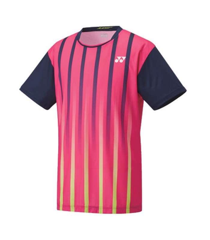 Yonex Lee Chong Wei LCW Men Round Neck T-Shirt 16217YEX Dark Pink