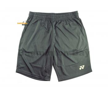 Yonex TruBreeze Quick Dry Sport Shorts Pants S092-1634-BSK19 Ebony (Grey) Lime Light