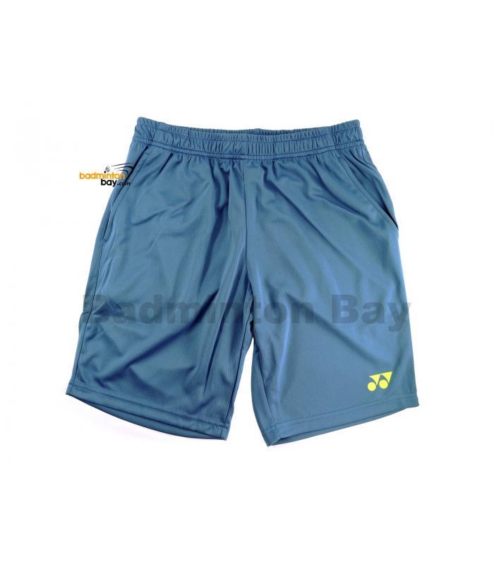 Yonex TruBreeze Quick Dry Sport Shorts Pants S092-1634-BSK19 Riverside Blue Acid Lime