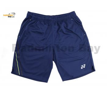 Yonex TruBreeze Quick Dry Navy Blue Sport Shorts Pants S092-1433-BSK19