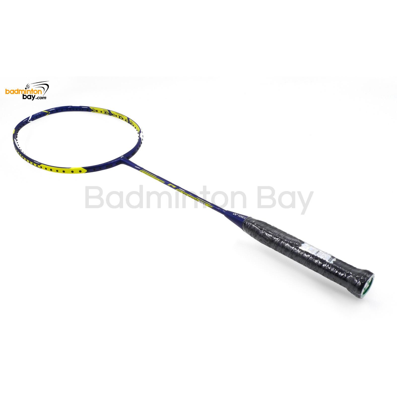 Yonex Duora 88 Badminton Racket Yellow White Blue Duora 88 3u G5
