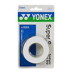 Yonex Super Grap Overgrip (3 pieces) AC102-EX PU Grip for Badminton Squash Tennis Racket