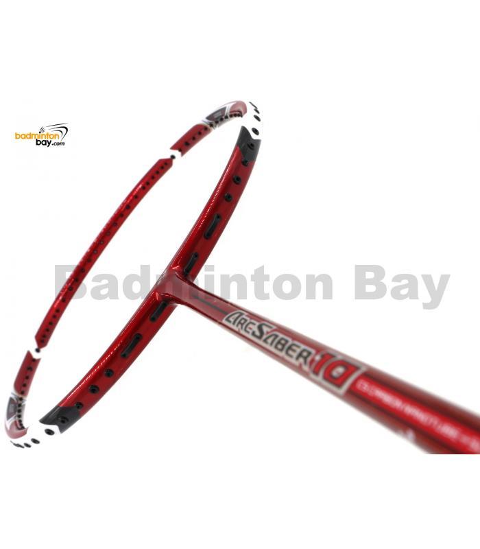 Yonex ArcSaber 10 Red Badminton Racket ARC10NNSP-R (4U-G5)