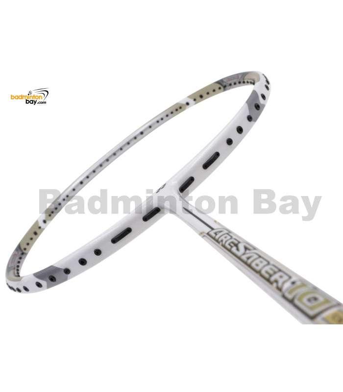 Yonex ArcSaber 10 Pearl White Badminton Racket ARC10 (3U-G5)