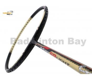 Yonex - Arcsaber 69 Light Rudy Hartono Series ARC-69LITE Black Gold Badminton Racket  (5U-G5)