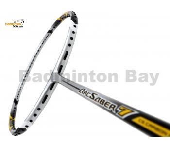 Yonex ArcSaber 7 Silver Yellow Badminton Racket ARC7 (3U-G5)