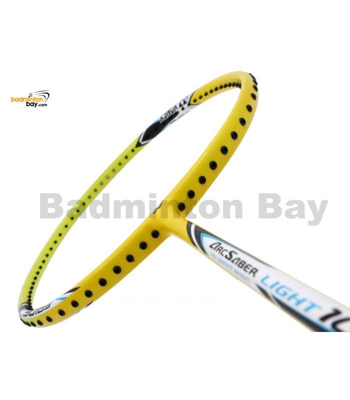 Yonex - Arcsaber Light 10i iSeries ARC-LT10IEX Yellow Badminton Racket  (5U-G5)