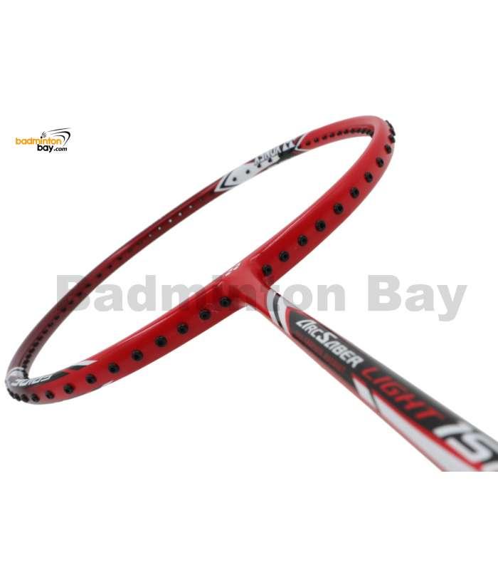 Yonex - Arcsaber Light 15i iSeries ARC-LT15IEX Red Badminton Racket  (5U-G5)