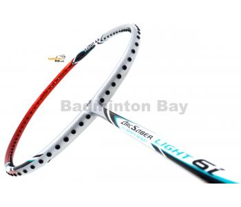 Yonex - Arcsaber Light 6i iSeries ARC-LT6IEX Silver Orange Badminton Racket  (5U-G5)