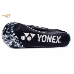 Yonex 2 Compartments Padded Badminton Racket Bag SUNR-1002BPRM Black
