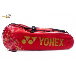 Yonex 2 Compartments Padded Badminton Racket Bag SUNR-1002BPRM Red