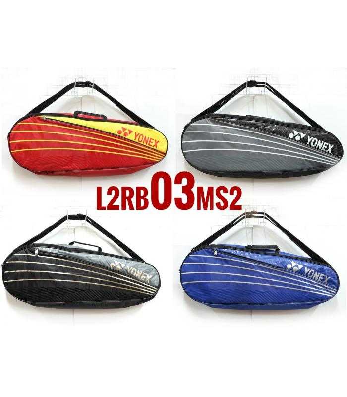 Yonex 2 Compartments Thermal Badminton Racket Bag L2RB03MS2 (03)