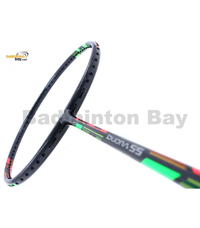 Yonex DUORA 55 Dark Grey Badminton Racket DUORA-55EX DGR (4U-G5)