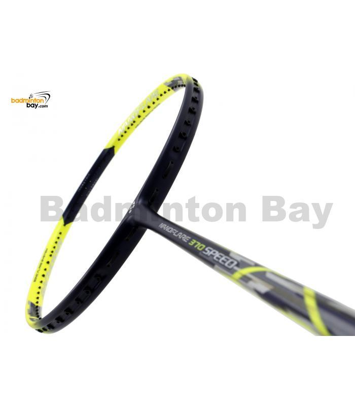Yonex Nanoflare 370 Speed Yellow Navy NF-370SPEX Badminton Racket  (5U-G5)