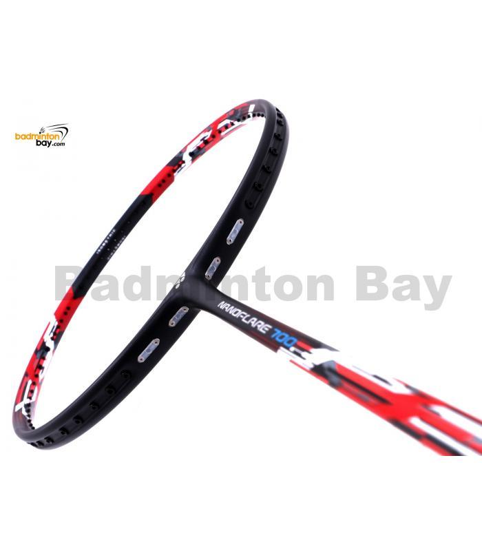 Yonex Nanoflare 700 Accent Red NF-700 Made In Japan Badminton Racket  (5U-G5)
