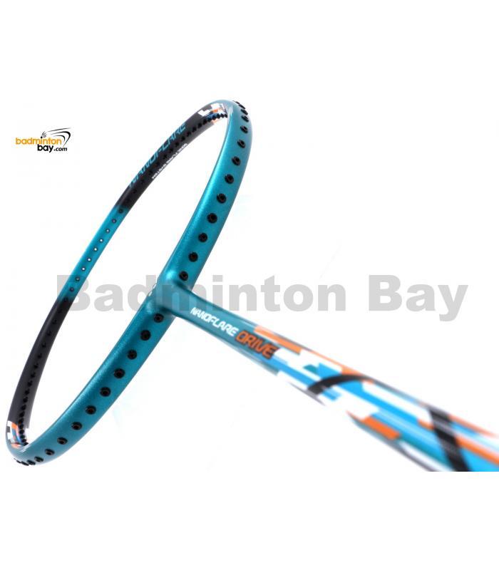 Yonex Nanoflare Drive Turquoise Black NF-DREX Badminton Racket  (4U-G5)
