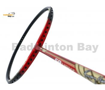 Yonex - Nanoray 68 Light Rudy Hartono Series NR-68LITE Black Red Badminton Racket  (5U-G5)