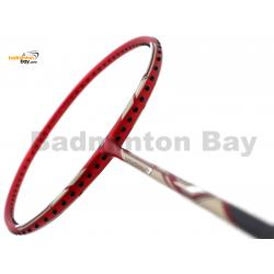 Yonex - Nanoray 7 Deep Red NR7 Badminton Racket  (4U-G5)