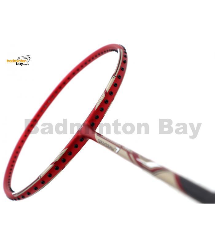 Yonex - Nanoray 7 Deep Red NR7 Badminton Racket  (4U-G5)