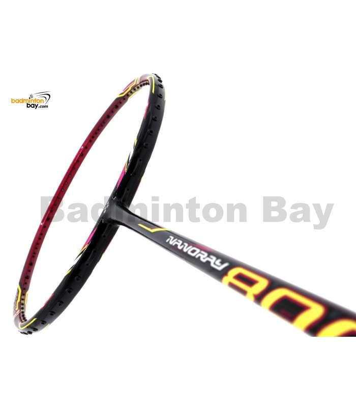 Yonex Nanoray 800 Black Magenta Badminton Racket NR800 (4U-G5)