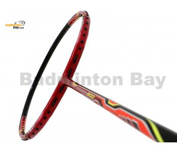 Yonex Nanoray 800 Poinsettia Red Badminton Racket NR800 PSAR (4U-G5)