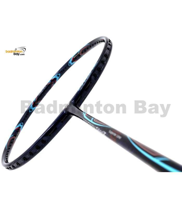 Yonex - Nanoray Glanz Navy Turquoise NR-GZSP Badminton Racket SP (4U-G5)