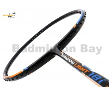 Yonex - Nanoray Light 18i iSeries NR-LT18IEX Black Badminton Racket  (5U-G5)