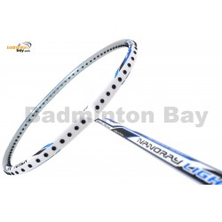 Yonex - Nanoray Light 4i iSeries NR-LT4IEXF White Blue Badminton Racket  (5U-G5)