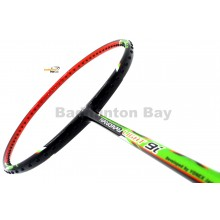 Yonex - Nanoray Light 9i iSeries ARC-LT9IEX Black Green Orange Badminton Racket  (5U-G5)