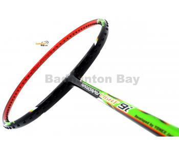 Yonex - Nanoray Light 9i iSeries NR-LT9IEX Black Green Orange Badminton Racket  (5U-G5)
