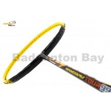 Yonex Nanoray Tour 99 Black Yellow NR99TRSP Badminton Racket  (4U-G5)
