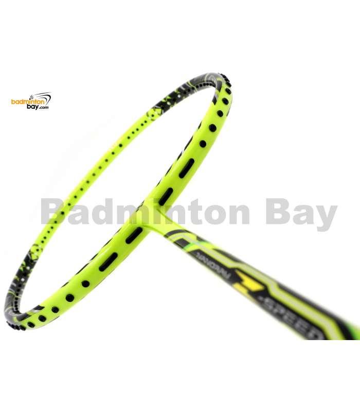 Yonex NanoRay Z Speed Yellow ( Neon Green ) NR-ZSPSP Badminton Racket SP (3U-G5)