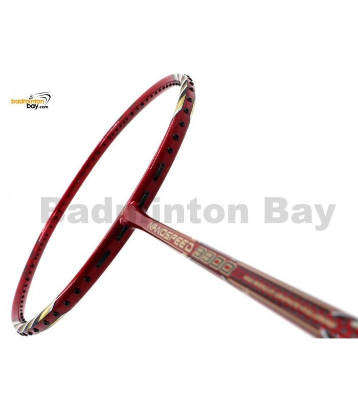 Yonex NANOSPEED 9900 Red Gold R/GO Badminton Racket NS9900 (3U-G5)
