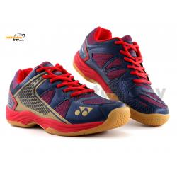Yonex All England 15 Blue Red Badminton Shoes In-Court With Tru Cushion Technology