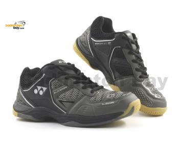 Yonex Aero Comfort 2 Metal Black Badminton Shoes With Tru Cushion Technology