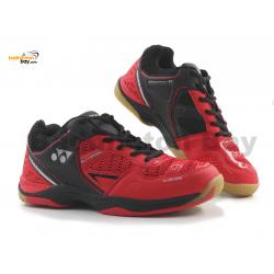 Yonex Aero Comfort 2 Red Black Badminton Shoes With Tru Cushion Technology