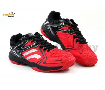 Yonex Akayu 2 Red Black Badminton Shoes In-Court With Tru Cushion Technology